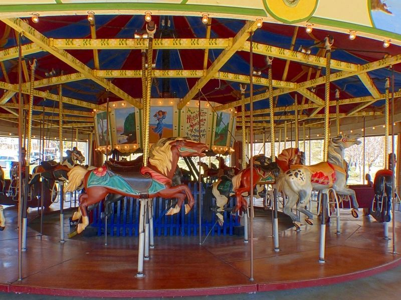 Ovid Hazen Wells Carousel<br>at Wheaton Regional Park image. Click for full size.