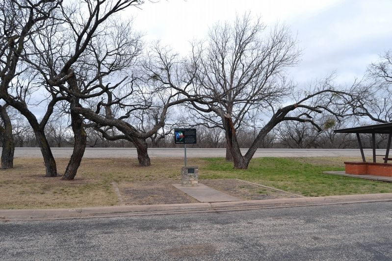 Marker at a US 83 Roadside Picnic Area image. Click for full size.
