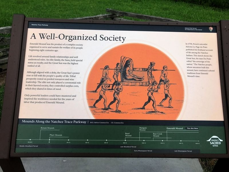 A Well-Organized Society Marker image. Click for full size.