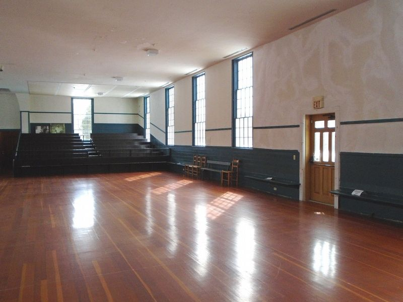 Shaker Meeting House Interior image. Click for full size.
