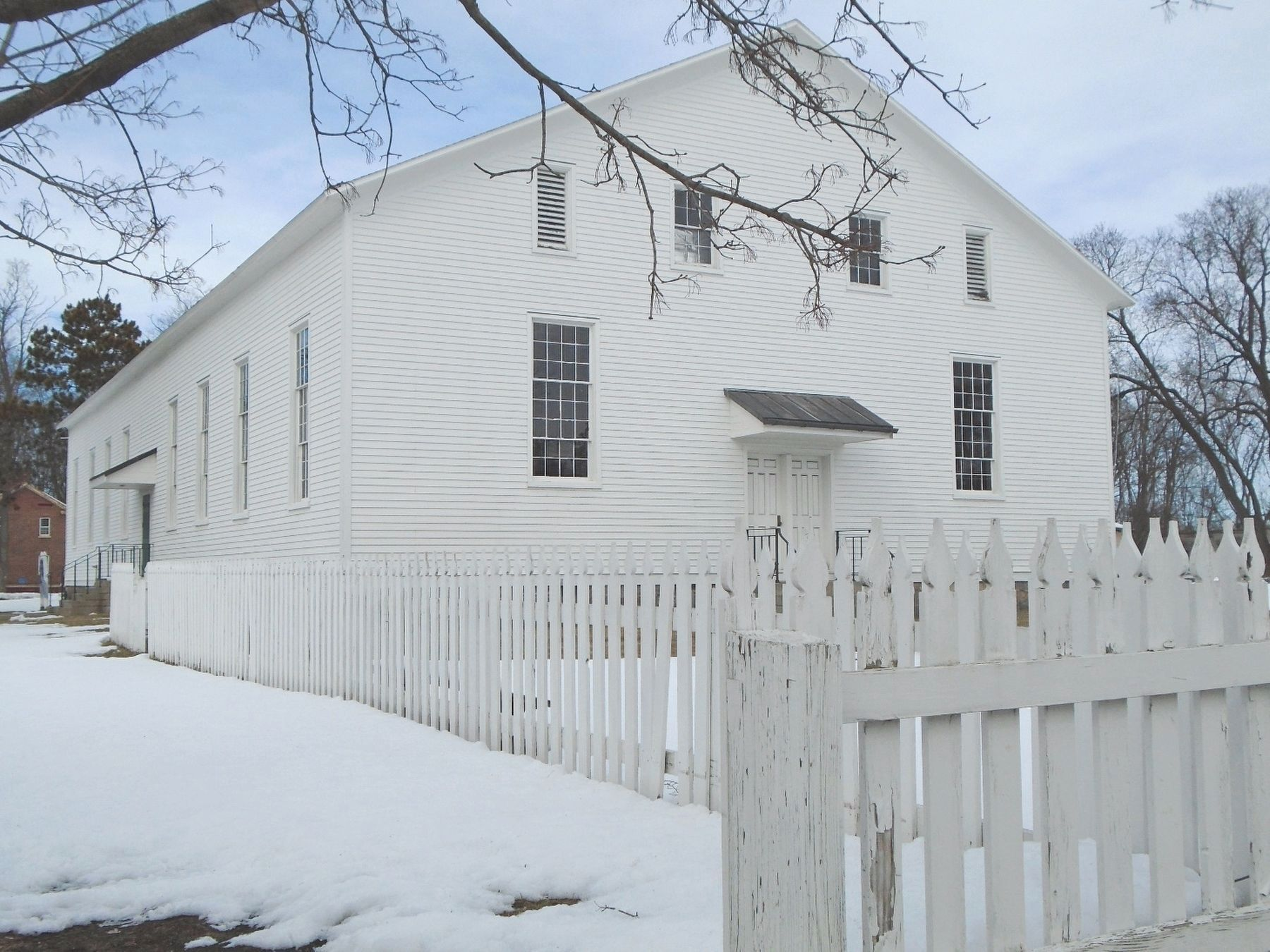 Shaker Meeting House image. Click for full size.