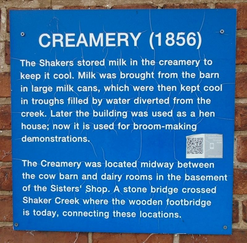 Creamery (1856) Marker image. Click for full size.