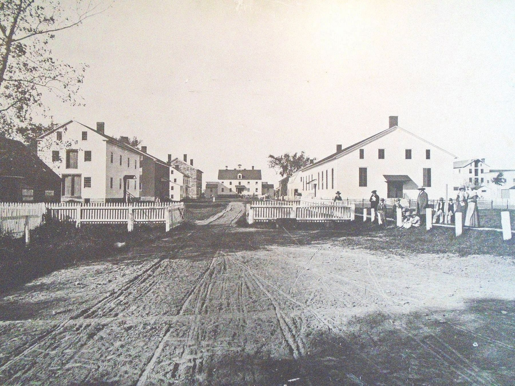 Photo of America's First Shaker Settlement image. Click for full size.