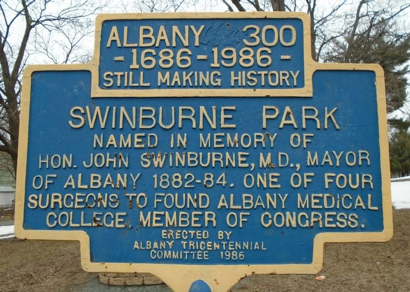 Swinburne Park Marker image. Click for full size.