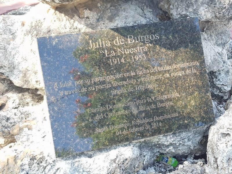 Julia de Burgos Marker image. Click for full size.