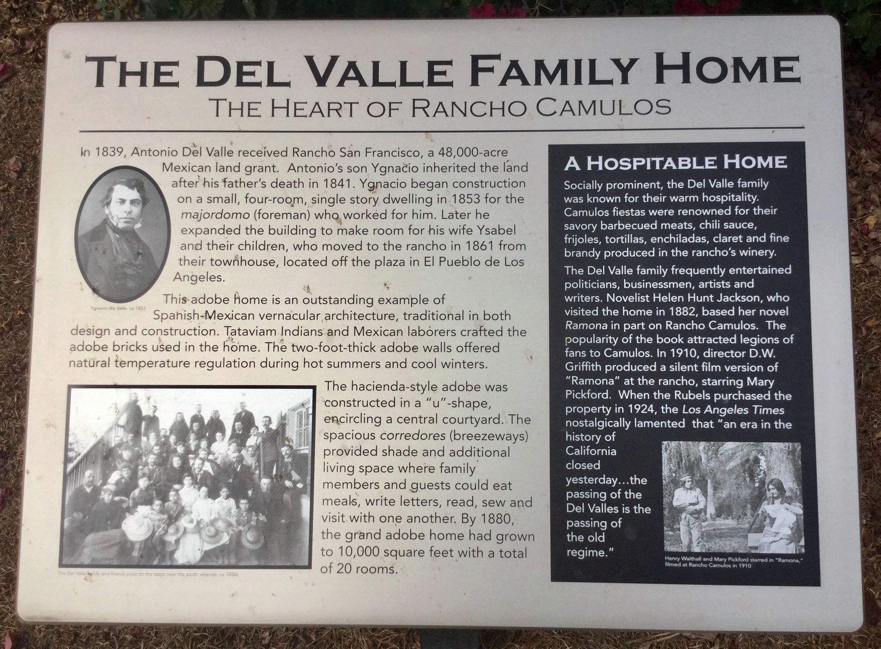 Family Home Marker image. Click for full size.