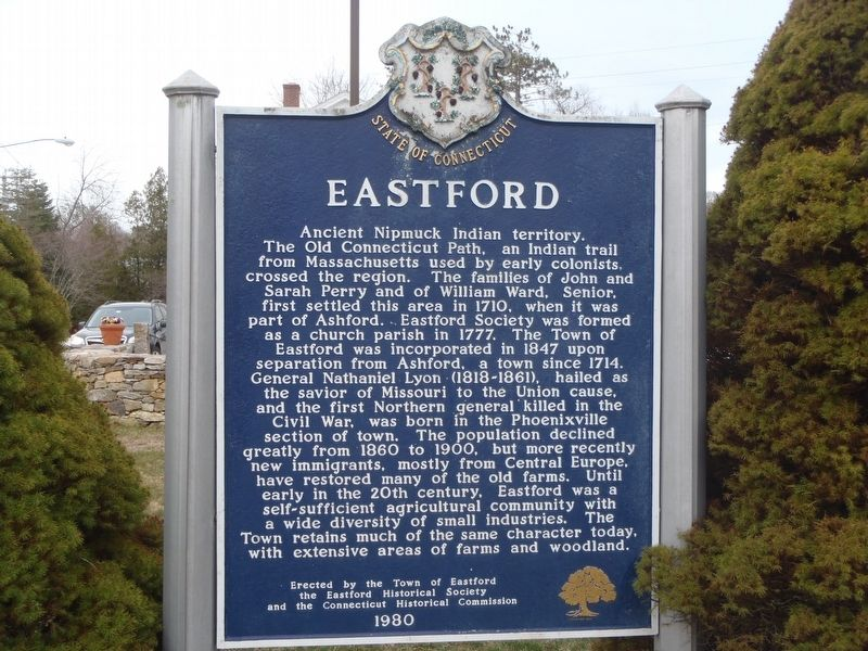 Eastford Marker image. Click for full size.