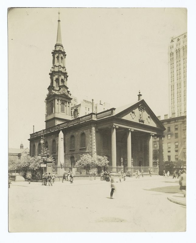 St. Paul's Chapel image. Click for full size.