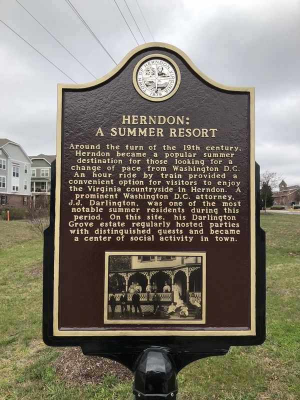 Herndon: A Summer Resort Marker image. Click for full size.
