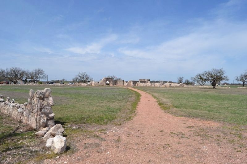 Real Presidio de San Saba in 2018 image. Click for full size.