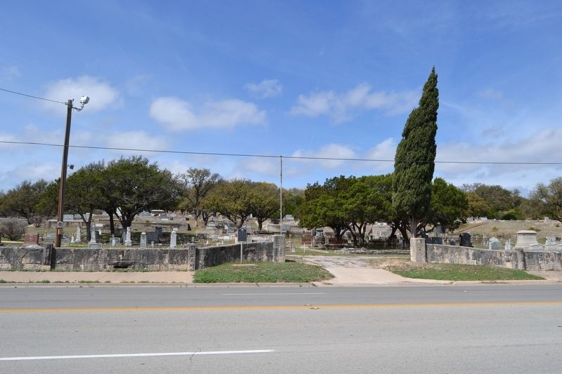 Pioneer Rest Cemetery image. Click for full size.