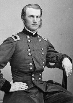 Union Brigadier General Thomas Edwin Greenfield Ransom (November 29, 1834 – October 29, 1864) image. Click for full size.