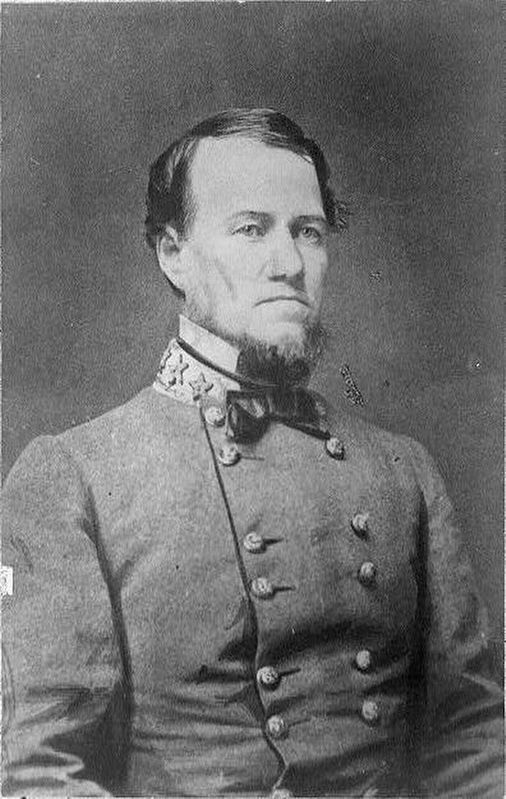 Maj. Gen. G.W. Smith, CSA image. Click for full size.