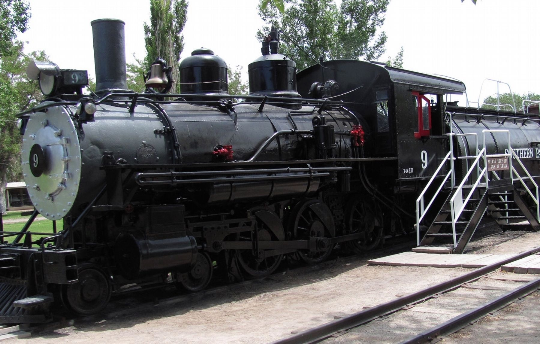 Slim Princess at the Laws Railroad Museum image. Click for full size.