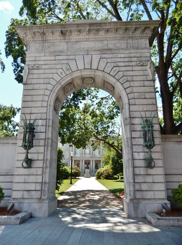 Soldiers and Sailors Memorial Arch image. Click for full size.