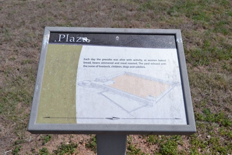Interpretive Sign for Plaza image. Click for full size.