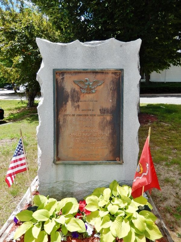 Charles Augustus Doyen Memorial image. Click for full size.