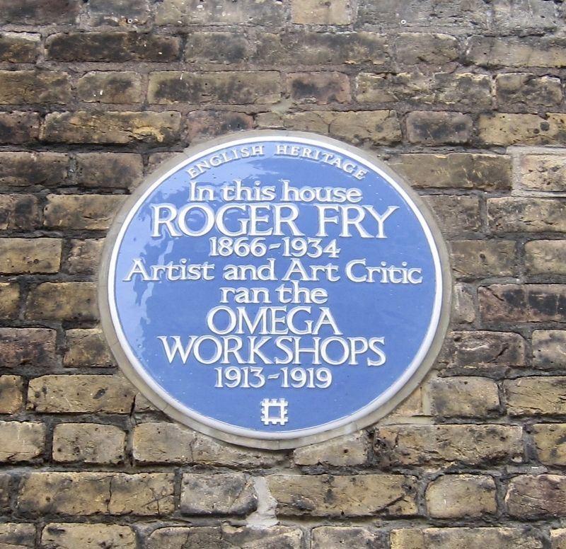 Roger Fry Marker image. Click for full size.