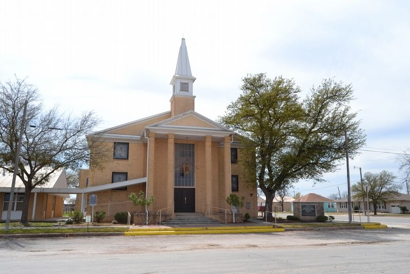 First Baptist Church of Eldorado image. Click for full size.