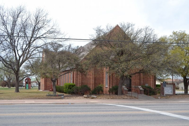 First Methodist Church of Eldorado image. Click for full size.