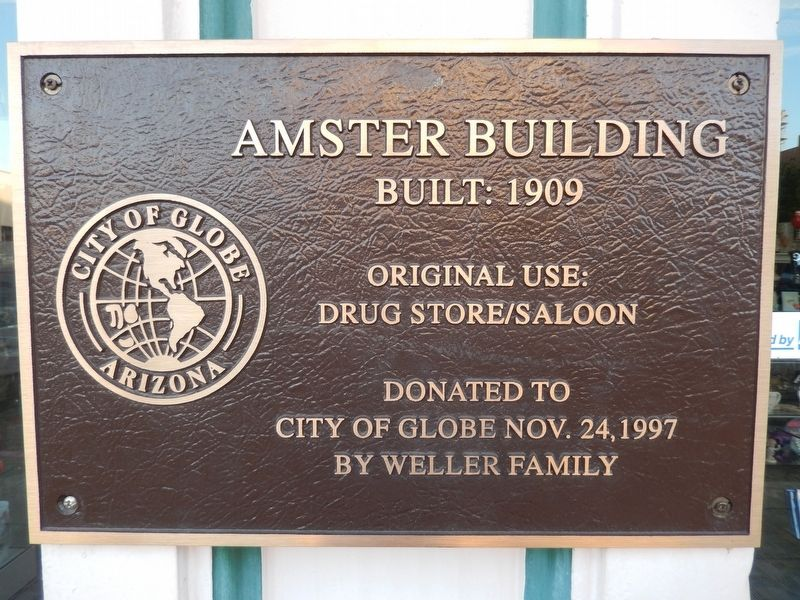 Amster Building Marker image. Click for full size.