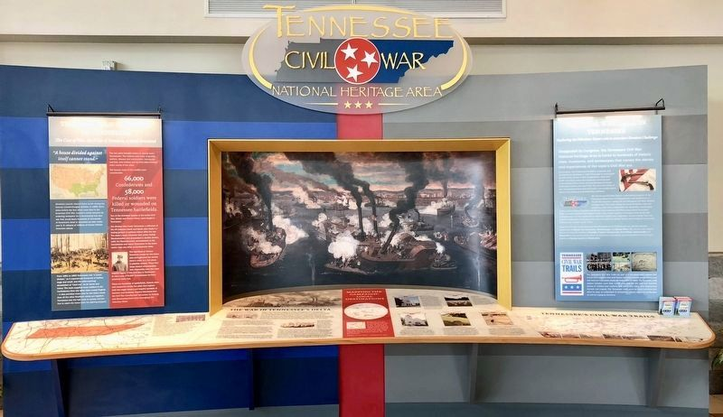 Display in the nearby Tennessee Welcome Center. image. Click for full size.
