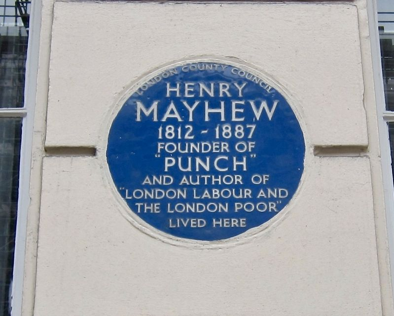 Henry Mayhew Marker image. Click for full size.