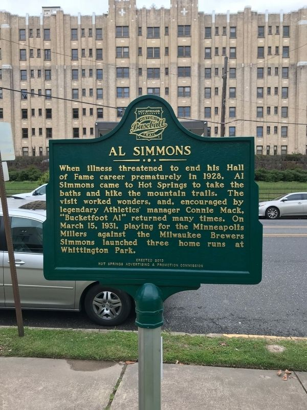 Al Simmons Marker image. Click for full size.
