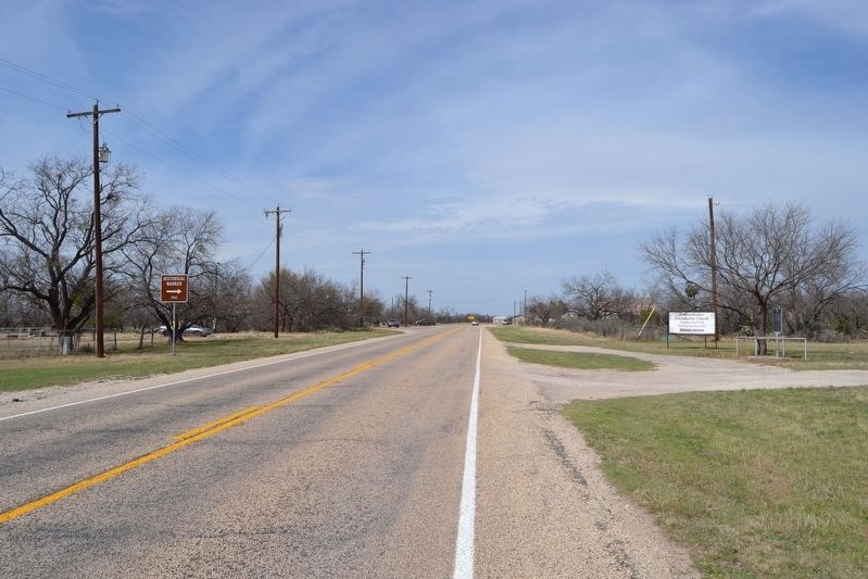 View to North Along Farm-to-Market Road 2335 image. Click for full size.
