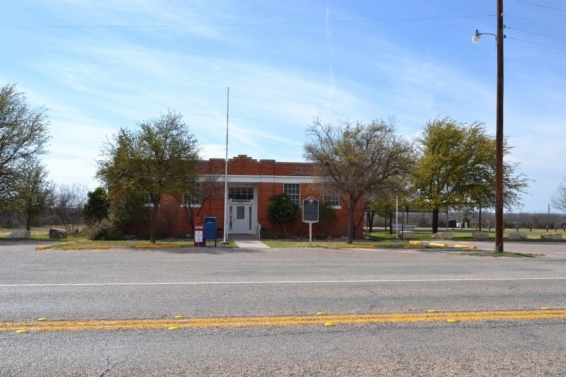 Knickerbocker Post Office and Community Center image. Click for full size.