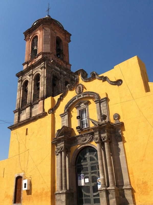 The Rectory and Sanctuary of Guadalupe facade image. Click for full size.