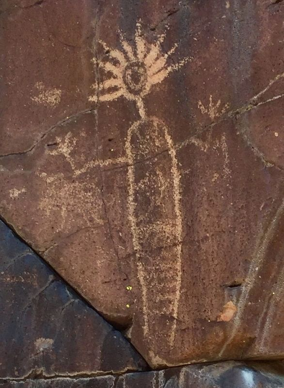 Coso Rock Art image. Click for full size.