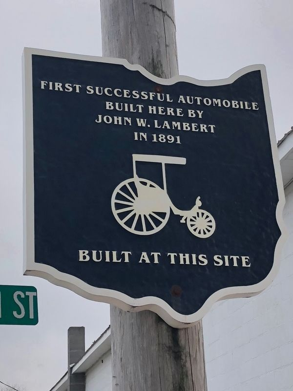 First Successful Automobile Marker image. Click for full size.