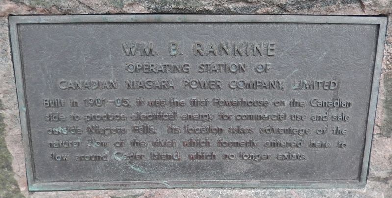 Wm. B. Rankine Marker image. Click for full size.