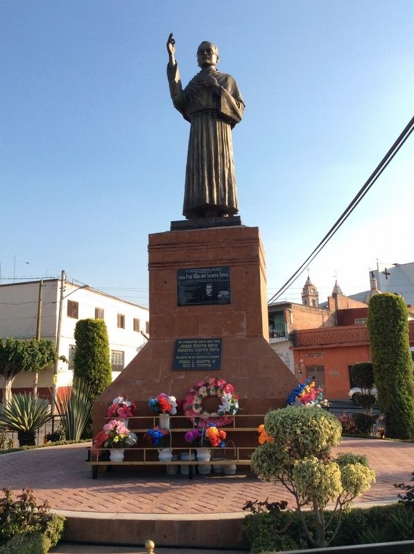 Blessed Friar Elías del Socorro Nieves Marker and statue image. Click for full size.