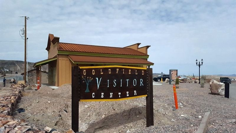 Goldfield Visitor Center image. Click for full size.