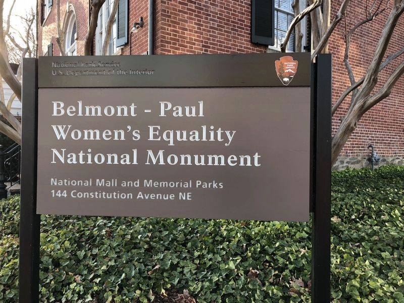 The House is now the Belmont - Paul Women's Equality National Monument image. Click for full size.
