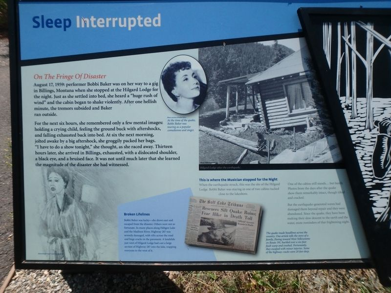 Sleep Interrupted Marker image. Click for full size.