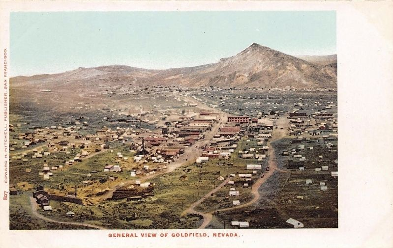 <i>General View of Goldfield, Nevada</i> image. Click for full size.