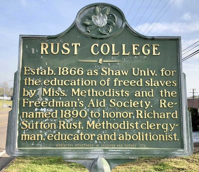 Rust College Marker image. Click for full size.