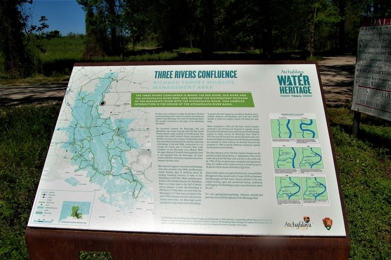 Three Rivers Confluence Marker image. Click for full size.