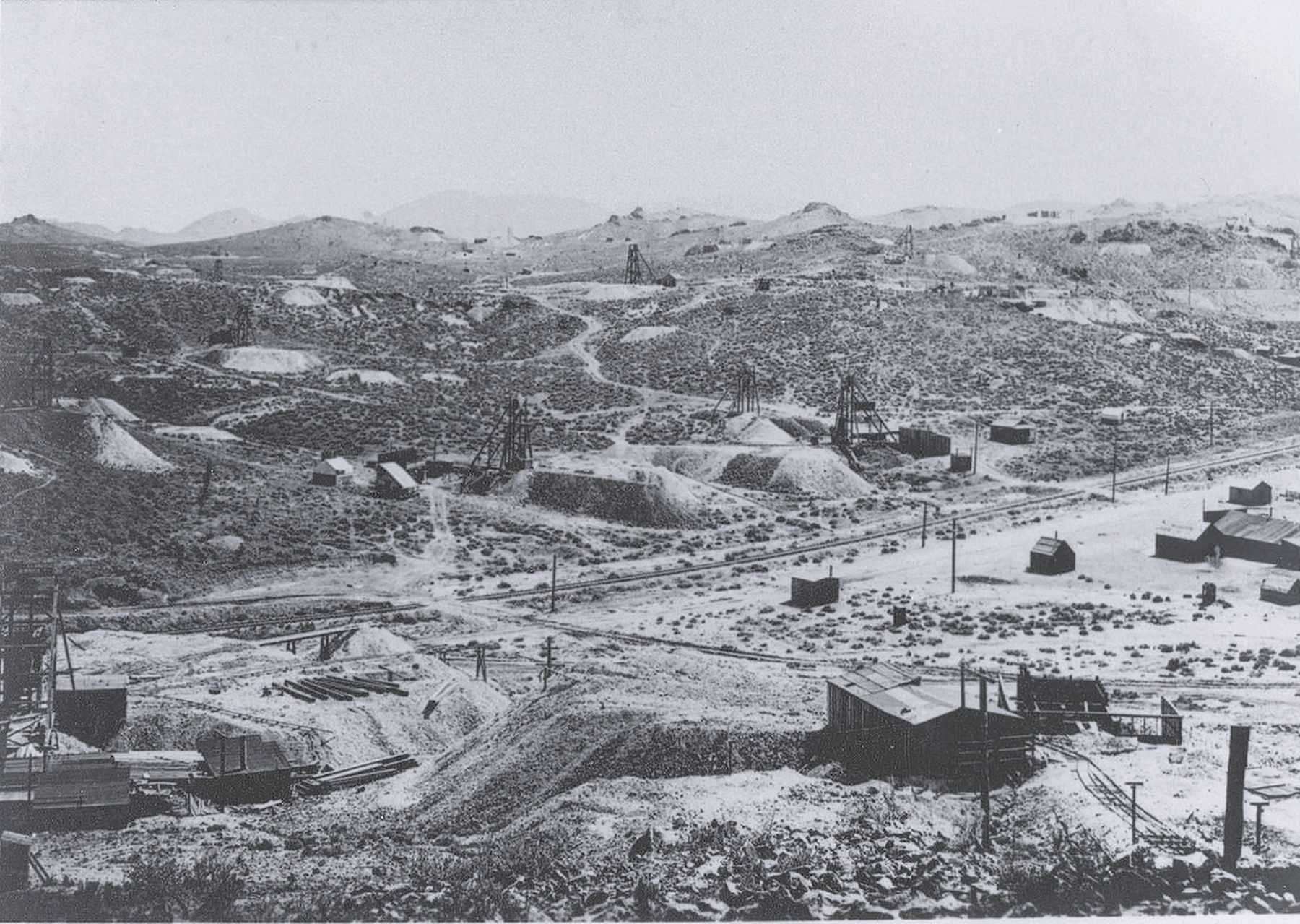 Goldfield Mining District, 1907 image. Click for full size.