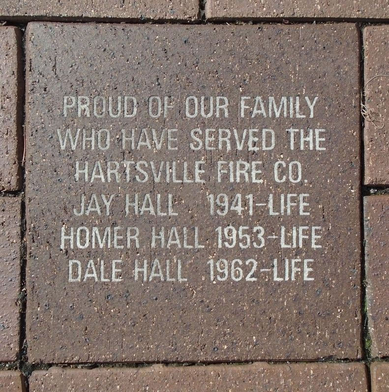 9/11 NYC Emergency Responders' Memorial Hall Family Paver image. Click for full size.