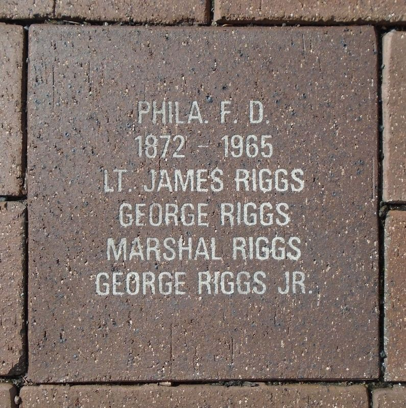 9/11 NYC Emergency Responders' Memorial Riggs Family Paver image. Click for full size.