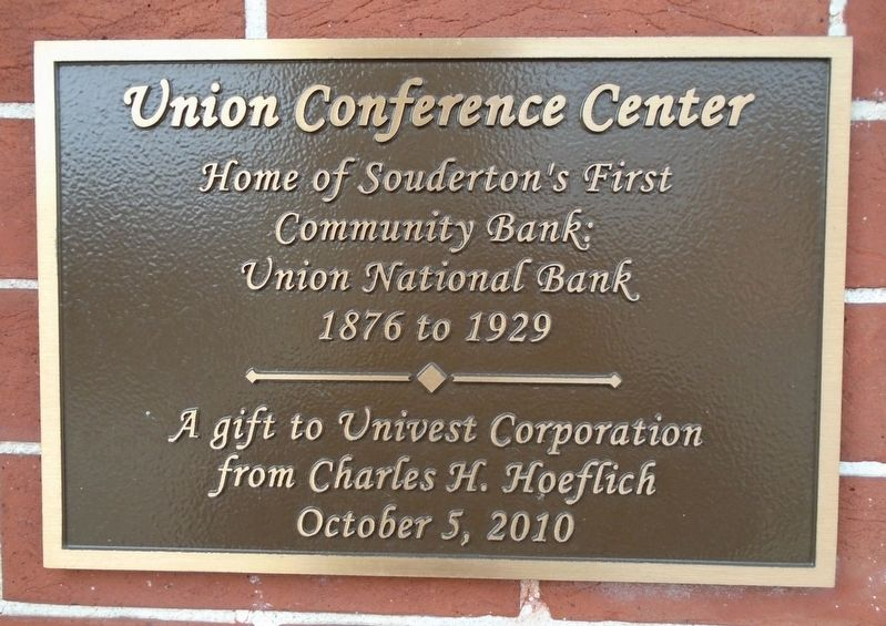 Union Conference Center Marker image. Click for full size.
