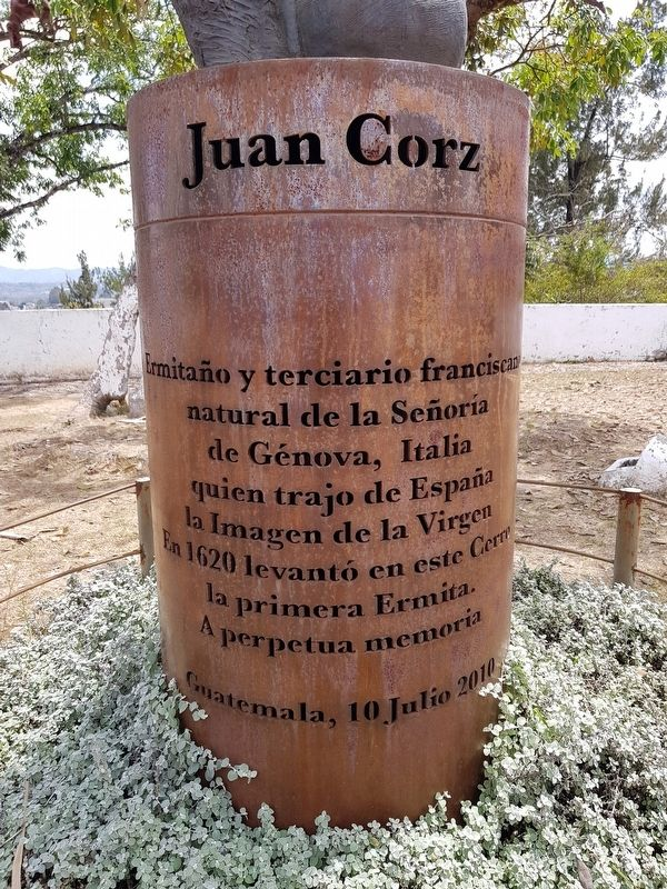 Juan Corz Marker image. Click for full size.