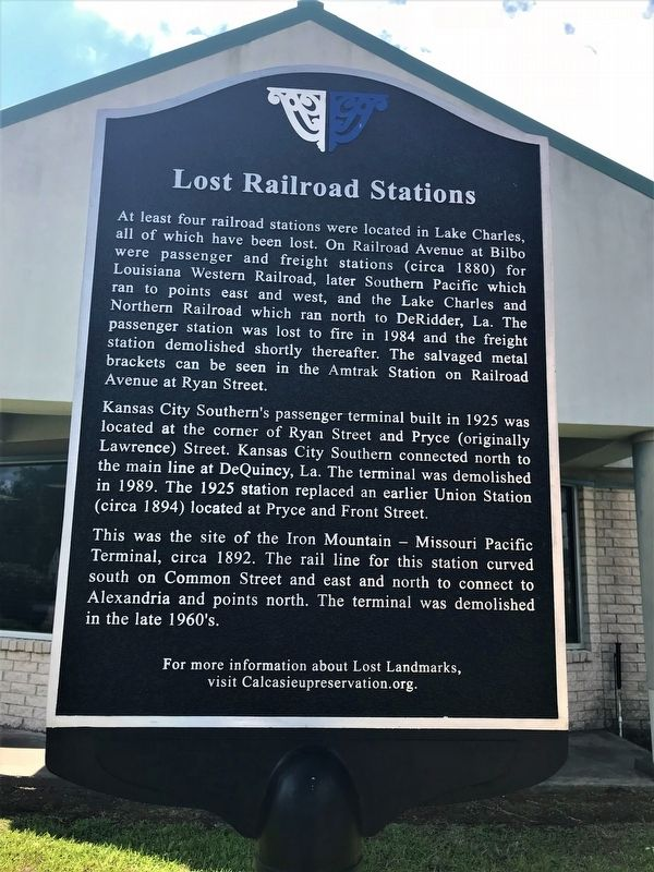 Lost Railroads Marker image. Click for full size.