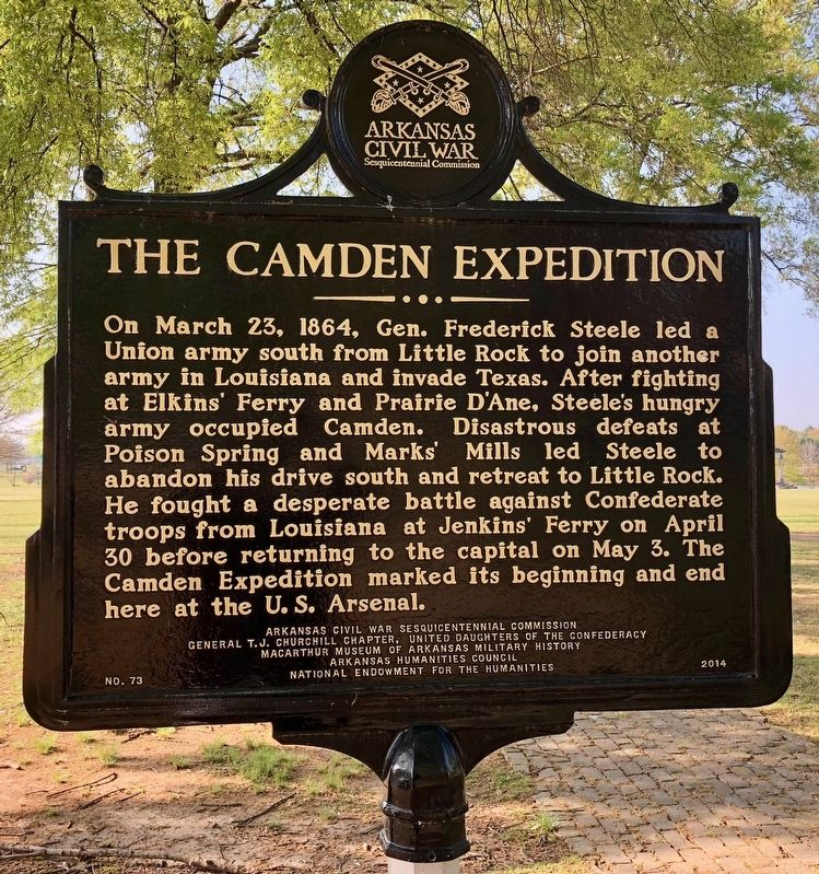 The Camden Expedition Marker image. Click for full size.
