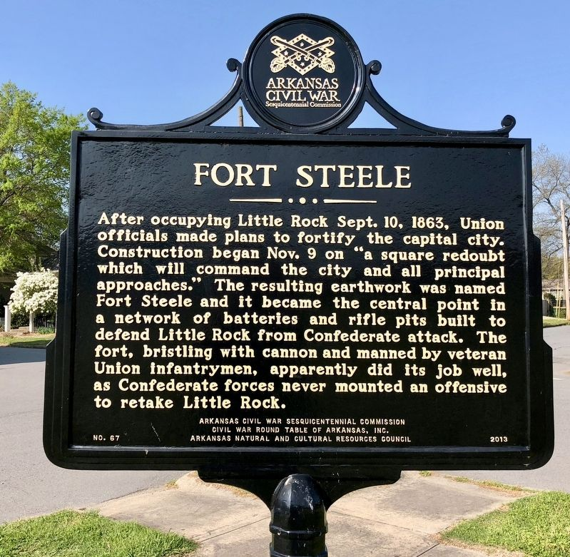Fort Steele Marker image. Click for full size.