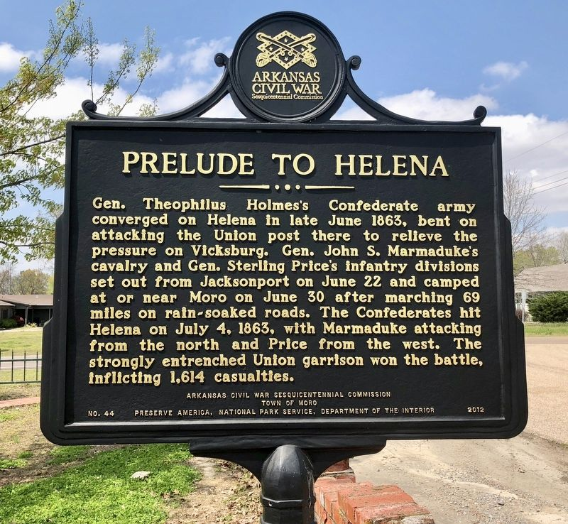 Prelude to Helena Marker image. Click for full size.